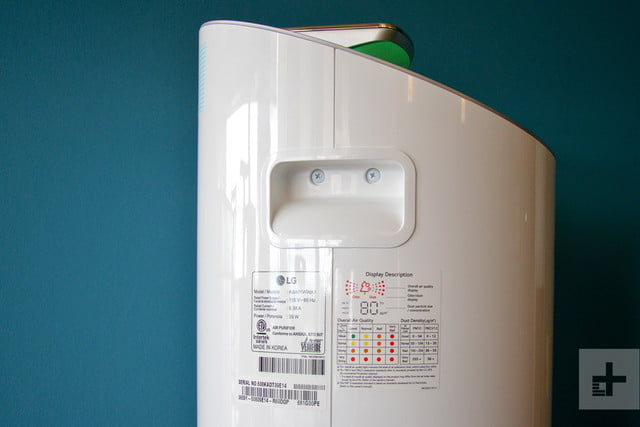 LG Puricare air purifier review profile
