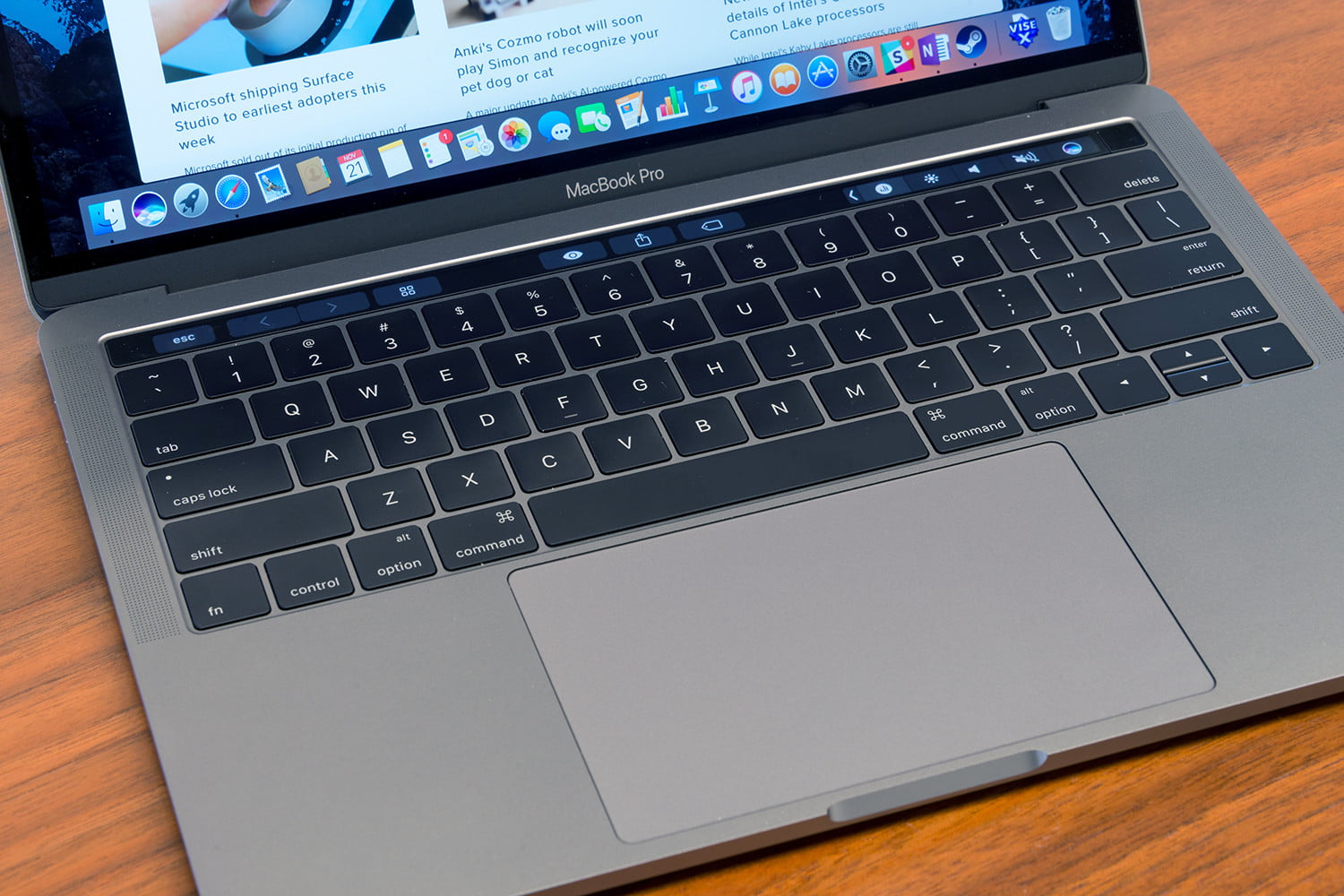 Macbook pro 13 inch with touch bar review digital trends for New apple book