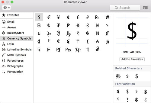 How to Type Symbols and Characters in Windows and MacOS