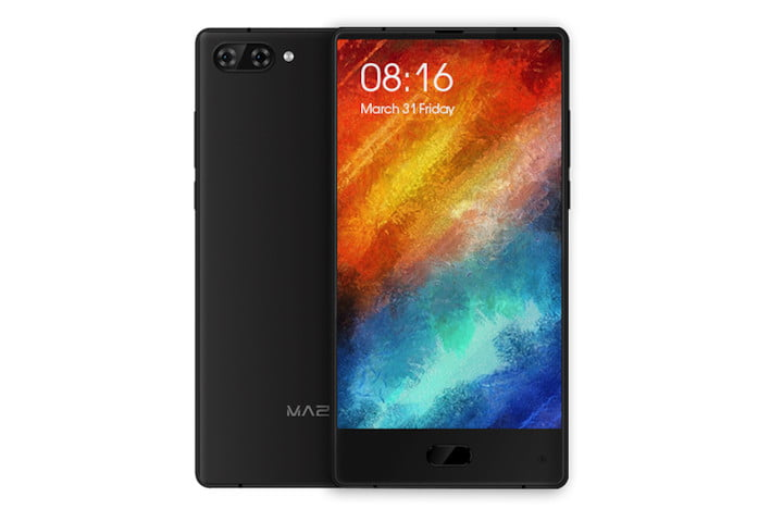 maze alpha bezel less smartphone news front rear