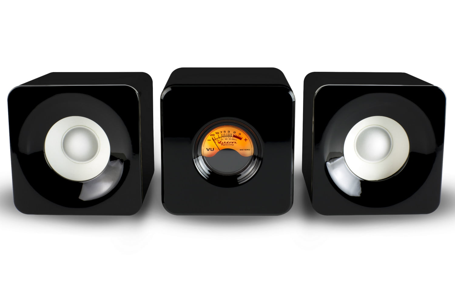Don't Pretend Not To Love These Speakers With A Working VU Meter
