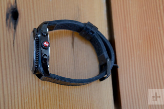 michele hybrid smartwatch review button profile
