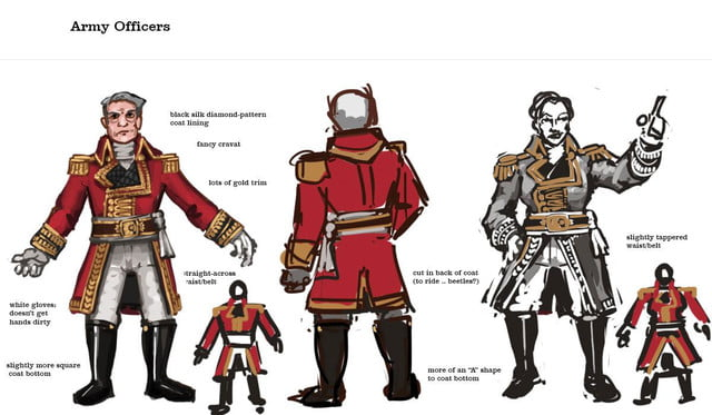 Models - Army officers