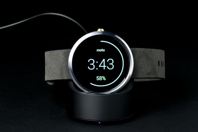 Moto 360 Watch front
