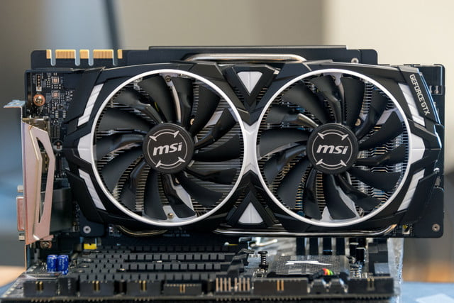 MSI GeForce GTX 1080 Ti Armor 11G OC Review | Digital Trends