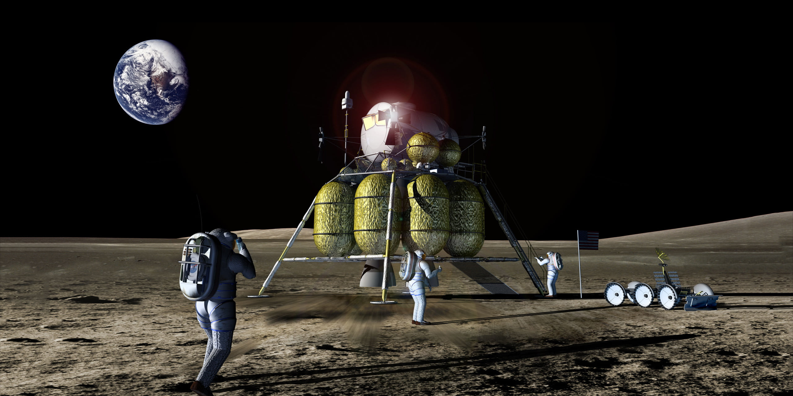 SpaceX, Blue Origin, NASA Compete to Put Humans on Mars ...