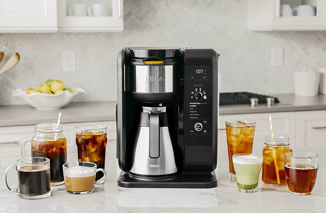 amazon ninja coffee maker deals hot and cold brewed system auto iq tea with thermal carafe 04