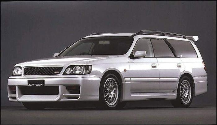 favorite station wagons from history nissan stagea