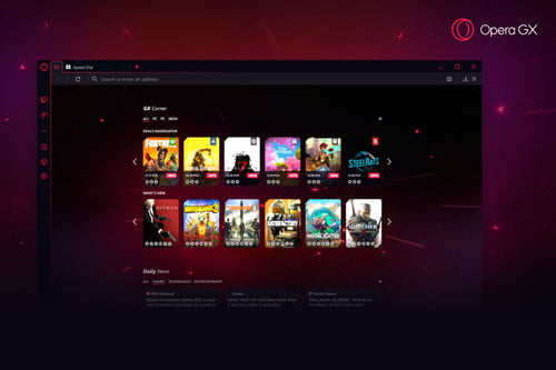 Opera GX Is a Browser for Gamers, But the Actual Gaming Is