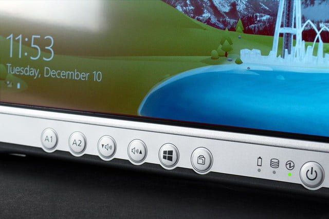 Panasonic FZ-G1 tablet front buttons