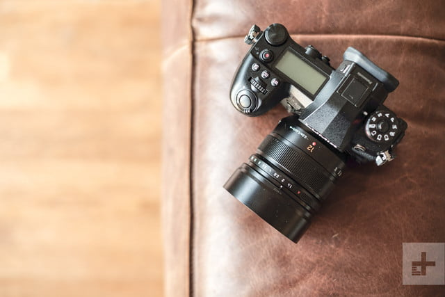 Panasonic Lumix G9 Review | Lifestyle shot of the camera sitting on a couch
