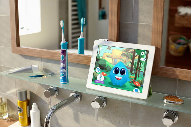 philips sonicare bluetooth toothbrush has a coaching app for kids connected