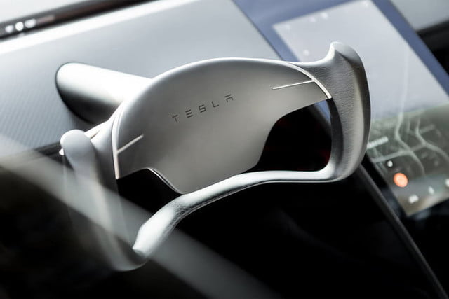 tesla roadster pictures steering wheel 2