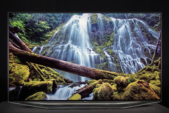 Samsung 7150 HDTV review front