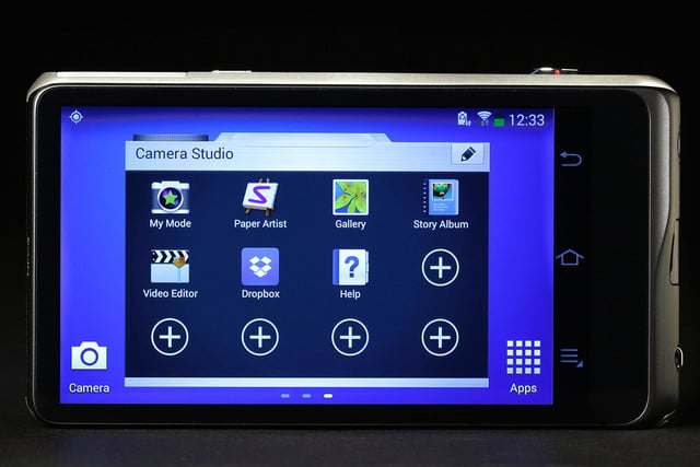 Samsung Galaxy 2 camera studio 2