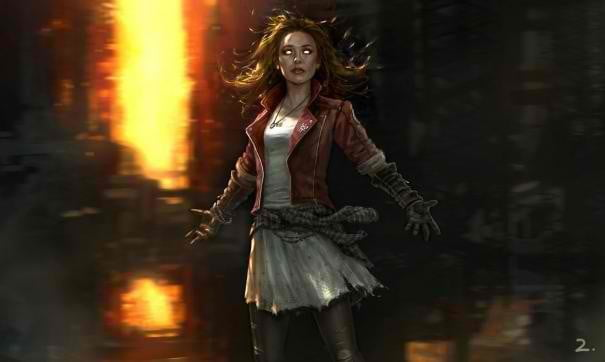 first look scarlet witch quicksilver avengers age ultron