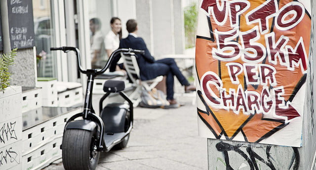 scrooser electric scooter minimalist design urban transport outdoor 03
