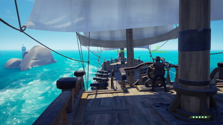sea of thieves sailing guide designate a captain