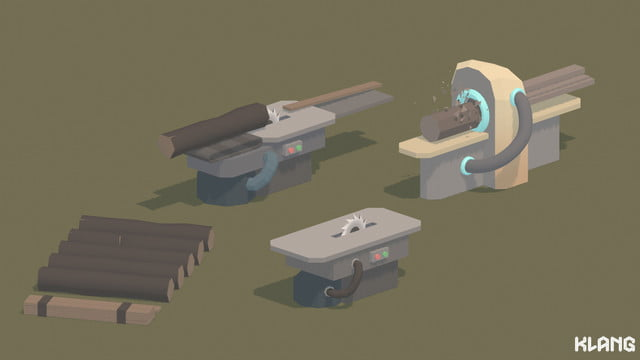 Seed Concept Art featuring wood and saw mills
