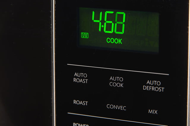 Sharp R-830BS Convection Microwave Oven