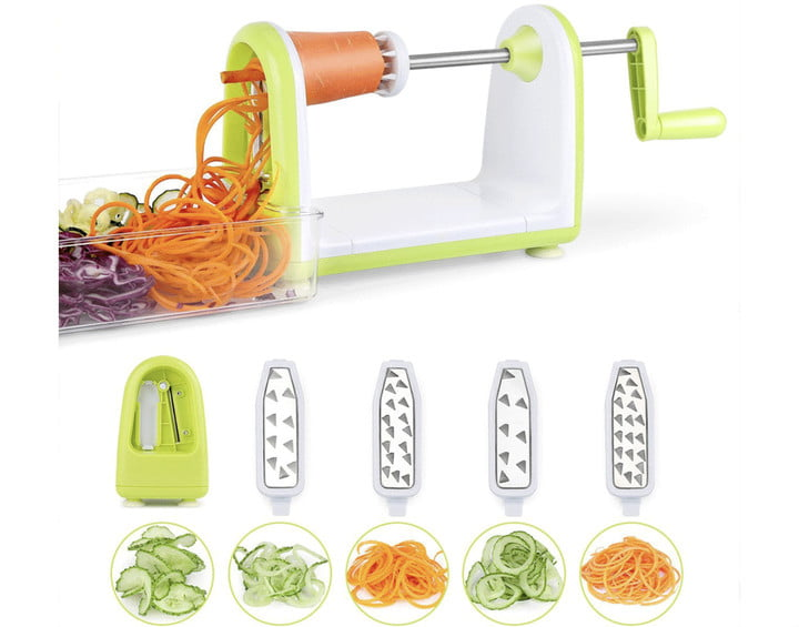 everyday kitchen products walmart eating healthy 2019 simpletaste spiral slicer