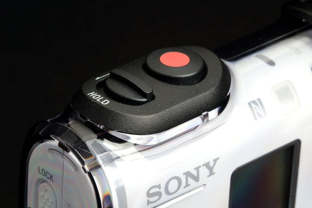 Sony Action Cam 4K top controls