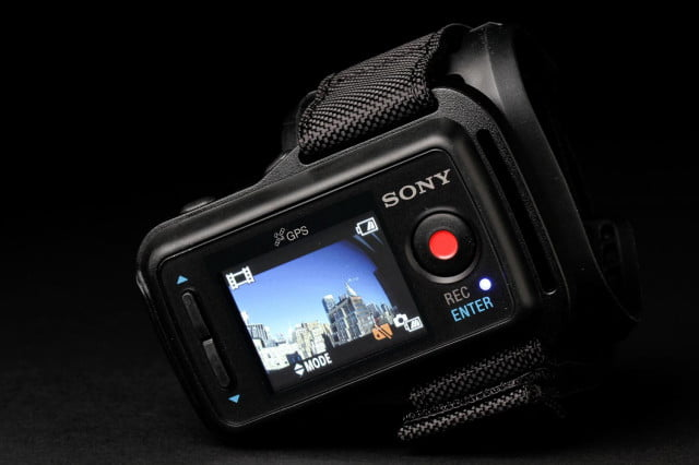 Sony Action Mini Cam screen