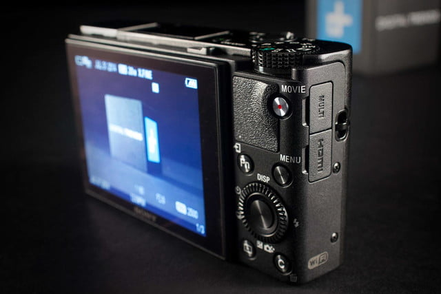 Sony Cybershot RX100 Mark III review ports