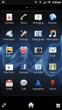 Sony Xperia P review screenshot android more apps android 4.0 smartphone