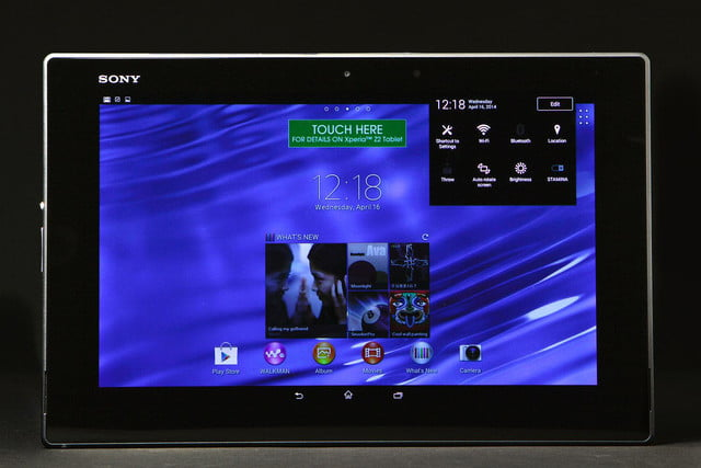 Sony Xperia Z 2 front home