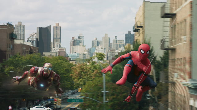 spider man homecoming review iron man