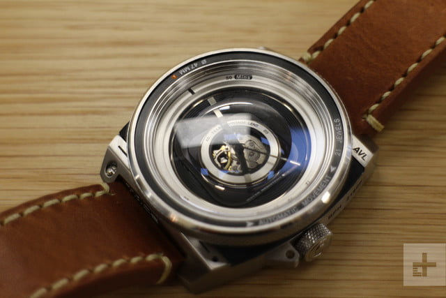 the avl ii is a watch inspired by a camera and it s utterly divine