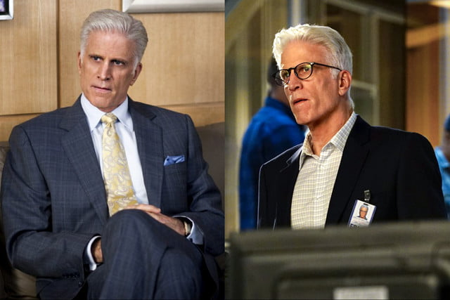 actors two shows same time teddanson
