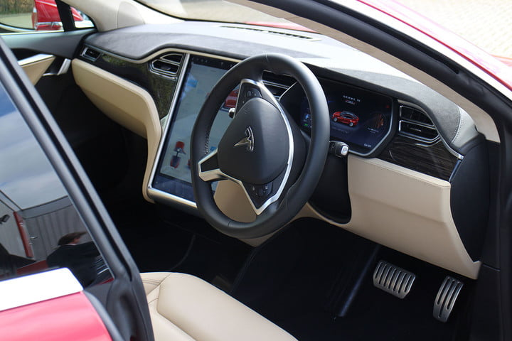 abnormally normal driving the tesla model s p90d 1409