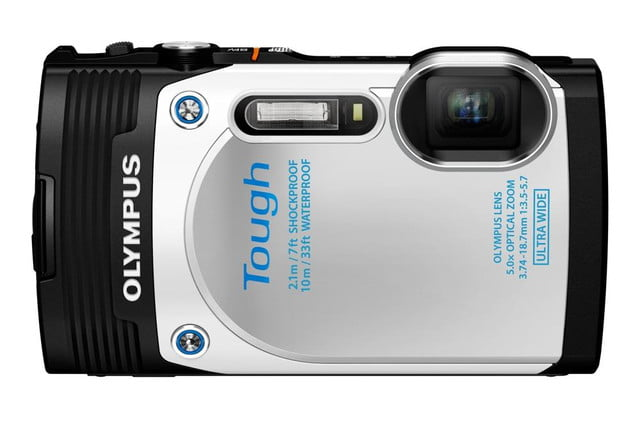olympus debuts new stylus tg 850 tough camera wht front