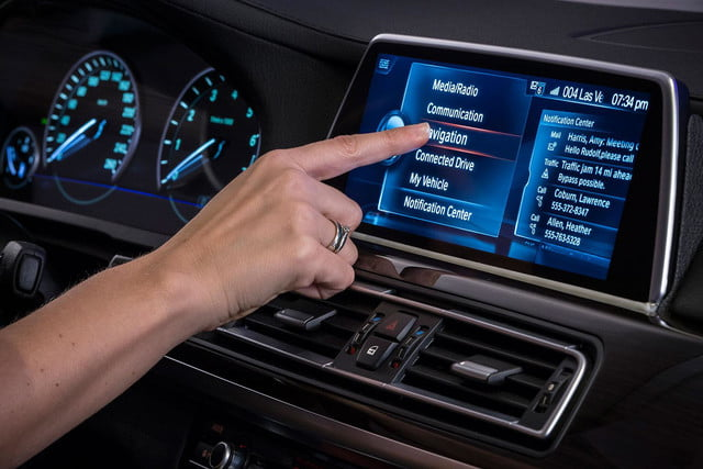 new bmw idrive features touchscreen and gesture recognition the next generation of 9