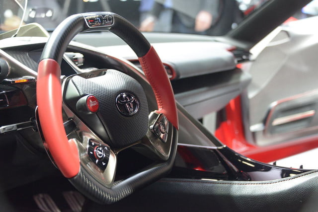 Toyota FT 1 steering wheel