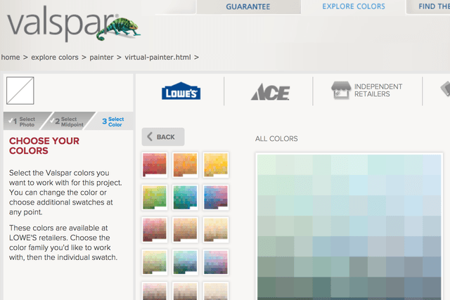 best tools to help you pick out paint colors for your walls valspar virtual painter tool