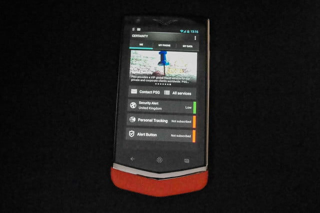 vertu constellation review front android certainty