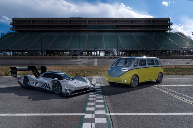 volkswagen crushes pikes peak climb record with its newest ev digital trends. Black Bedroom Furniture Sets. Home Design Ideas