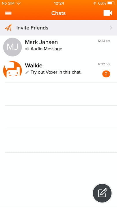 best walkie talkie apps for android and ios voxer 2