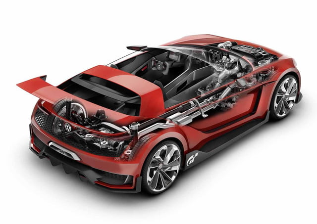 vws race inspired gti roadster concept coming la vw 9