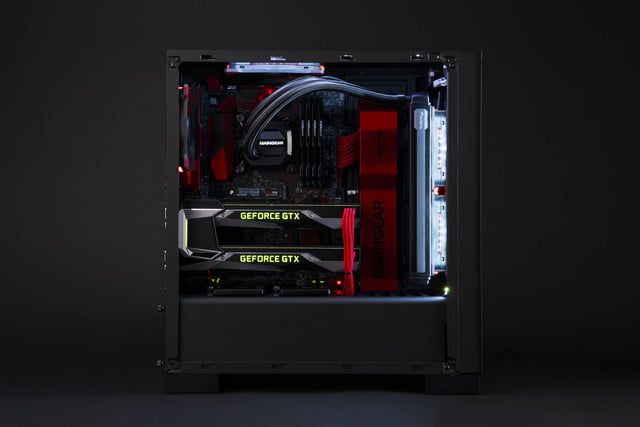 maingear vybe desktop refreshed nomad pulse laptops gtx 10 series