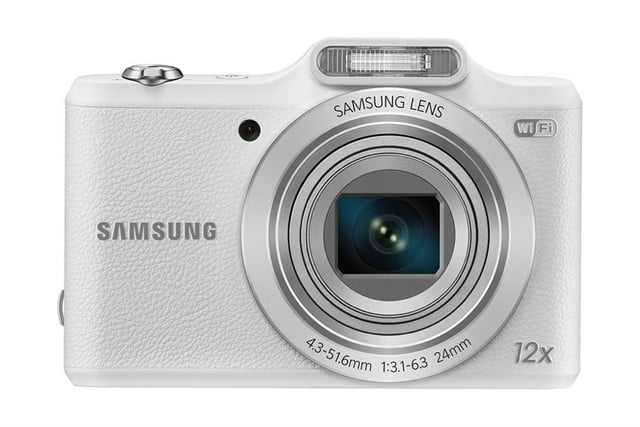 samsung ces 2014 point and shoot cameras wb50f 001 front white