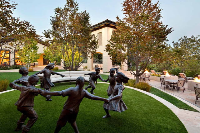 kumar malavallis 88 million home marries business and luxury whimsical sculptures dot the property