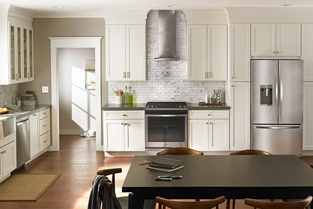 whirlpools smart appliances work with nest and amazon dash whirlpool kitchen suite caresync system p150437 15z