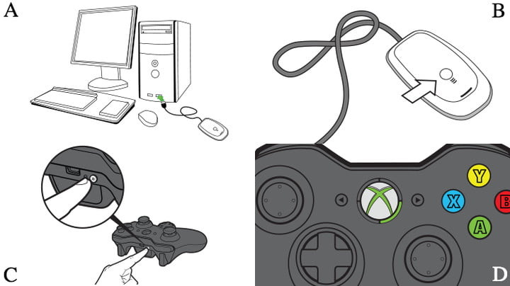 how to connect your xbox 360 controller a pc sync guide